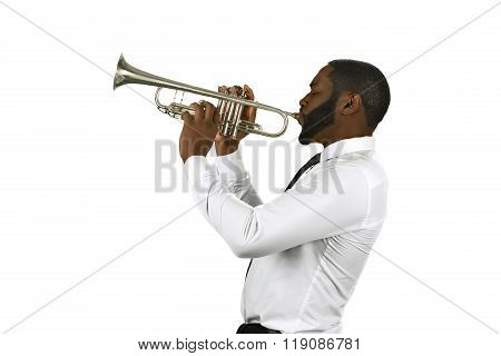 Talented trumpet performer.