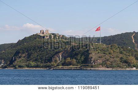 Yoros Castle In Anadolu Kavagi
