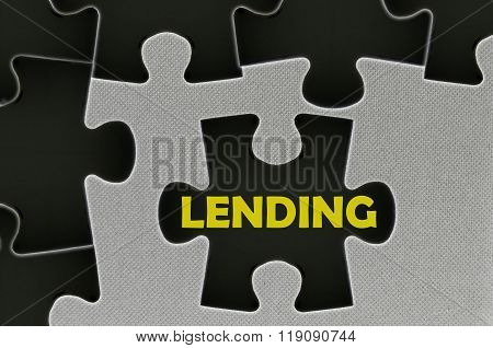 The White Jigsaw Puzzle Written Word Lending