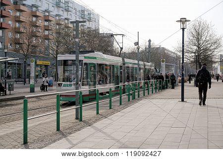 Tram in Magdeburg