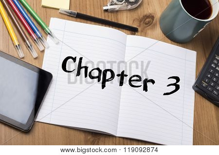 Chapter 3 - Note Pad With Text