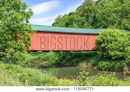 Ohio's Foraker Covered Bridge
