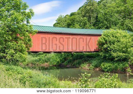 Ohio's Foraker Covered Bridge