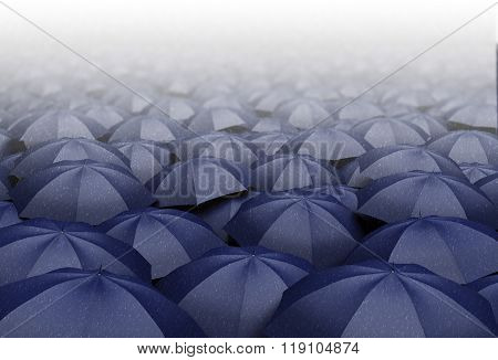 Rainy Day Concept Illustration