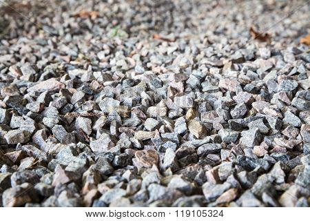 Crushed Colored Stone Gravel