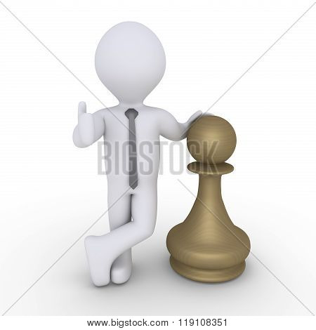 Chess Pawn Winner