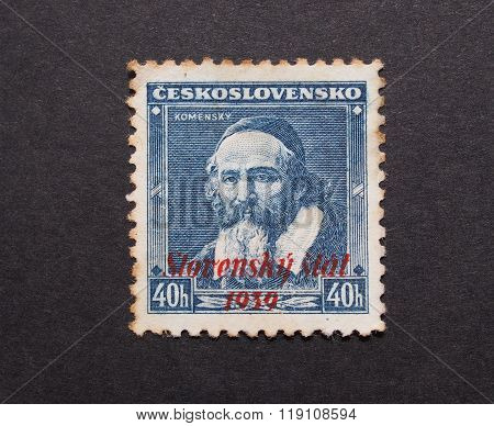 Slovak Stamp