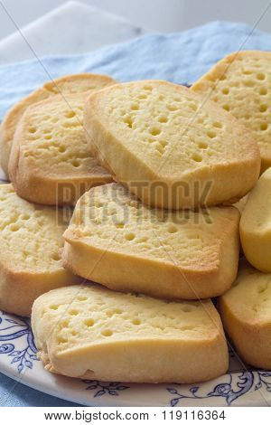 Shortbread on a Plate