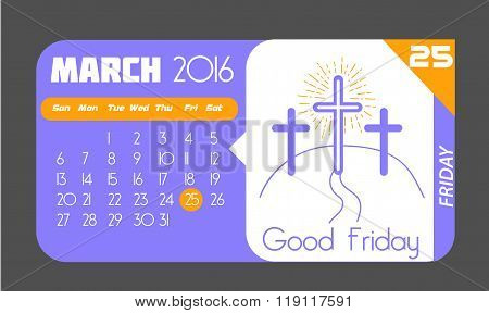 25 March Good Friday