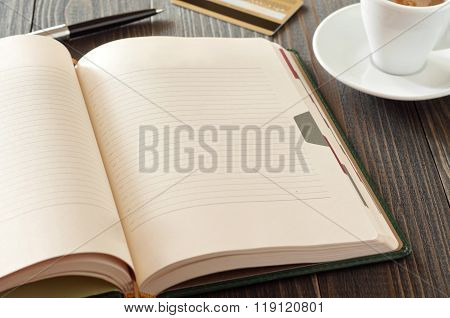 Notepad With Blank Pages
