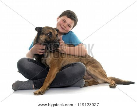 Child And Malinois