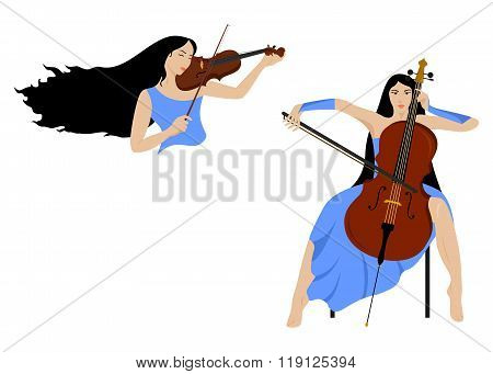 Girl And Music
