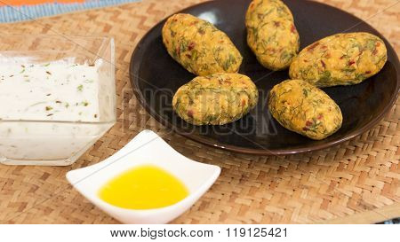 Thogari Nucchina Unde Or Steamed Toor Dal Balls From Karnataka, India