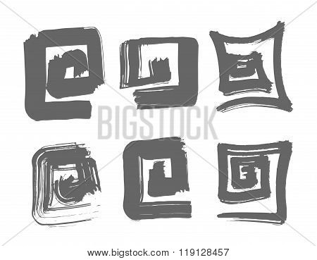 Labyrinth Hand Drawn Illustration.