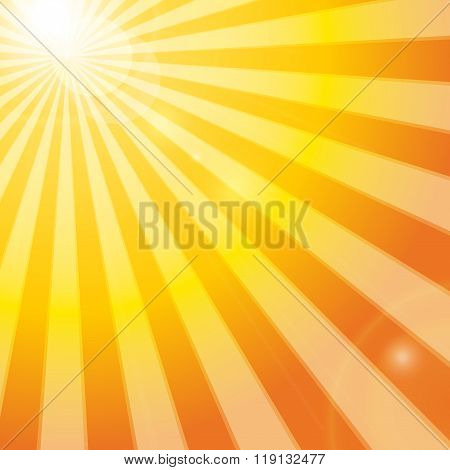 Shining Sun In The Sky
