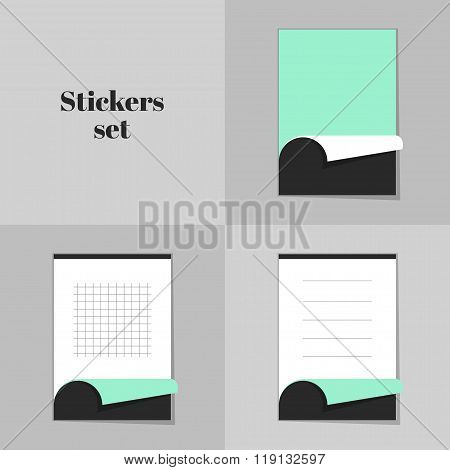 Collection Stickers Notebooks