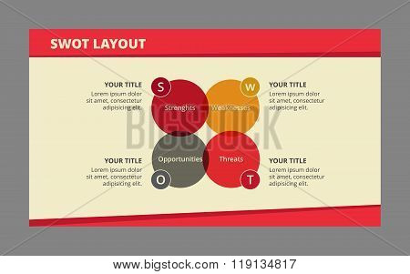 InfographicTemplate for Swot-Analysis 2