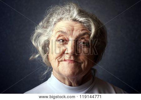 Happy granny portrait
