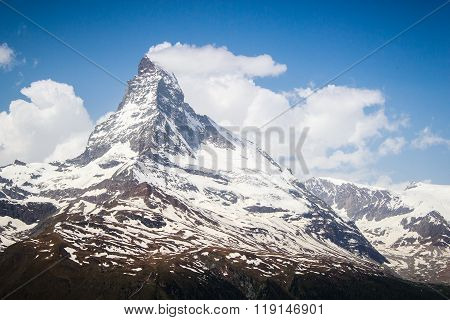 Views Of The Mountain Matterhorn