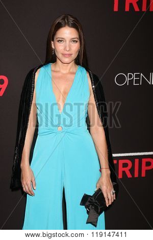 LOS ANGELES - FEB 16:  Adriana Fonseca at the Triple 9 Premiere at the Regal 14 Theaters on February 16, 2016 in Los Angeles, CA