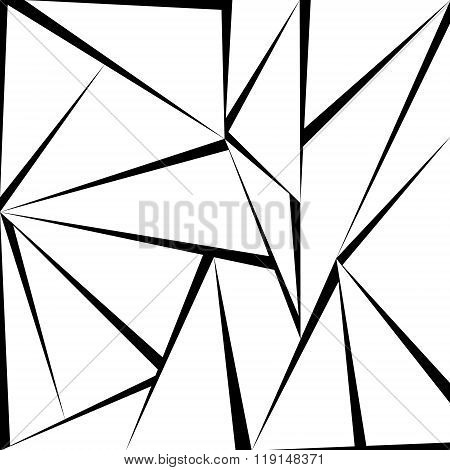 Triangle greyscale pattern