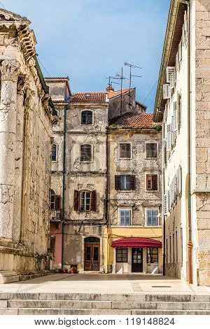 Old Vintage Buildings - Pula, Istria, Croatia