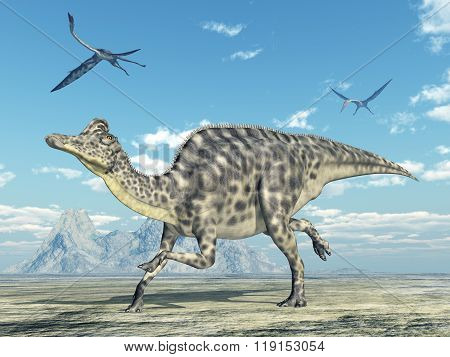 Velafrons and Quetzalcoatlus