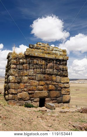 The Most Interesting Places Of South America, Inca Ruins In Cutimbo In Peru