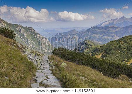 Poland - Tatra National Park In Tatra Mountains, Part Of Carpathian Mountains. Unesco Biosphere Rese