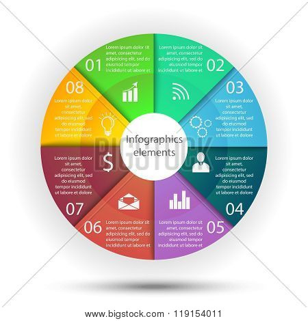 Infographics business elements