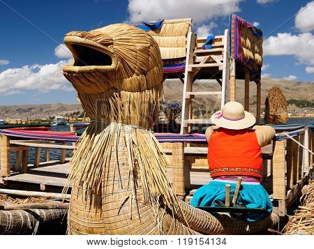 The Most Interesting Places Of South America, Floating Islands Uros In Peru