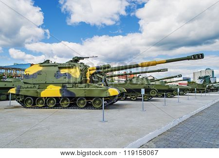 152Mm Self-propelled Howitzer Msta-s