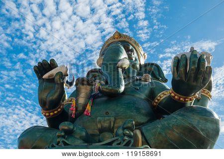 Ganesha Statue And Hindu God, Thailand