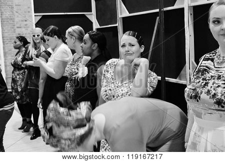Plus-size Fashion Weekend Fashion Show- February London 2014