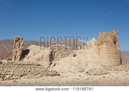 Ruins Of An Omani Village