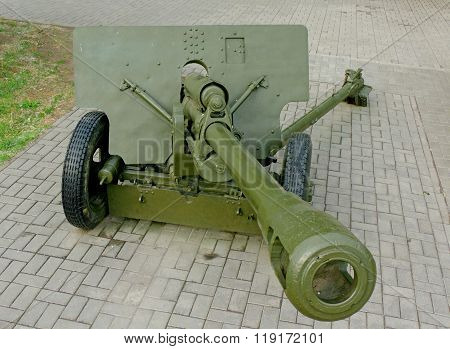 76-mm Divisional Gun Of World War Ii
