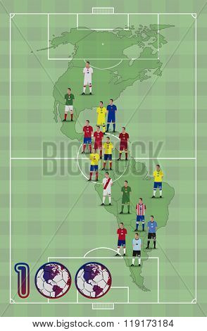 America Football Centenary