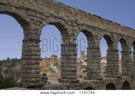 Aquaduct At Segovia
