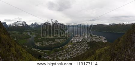 Norway, Andalsnes