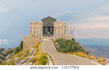 Njegos mausoleum Lovcen