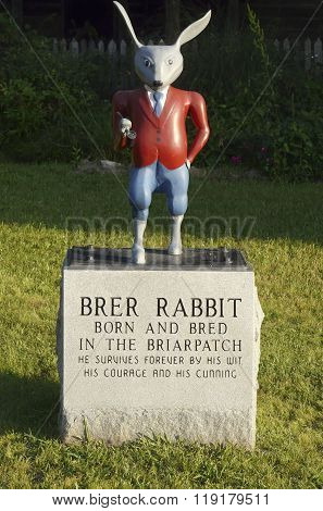 Brer Rabbit At Uncle Remus Museum