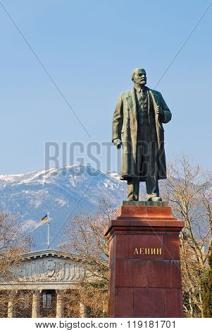 Kiev, Ukraine: October, 2013 - Soviet monument to Shevchenko in Kiev, Ukraine, erected in 1939