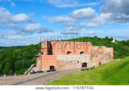 Surviving Buildings Of Upper Vilnius Castle, Vilnius, Lithuania