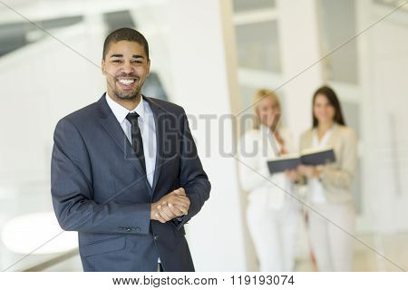 Young Multiracial People Working In The Office