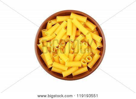 Wholegrain Italian Pasta In Dish