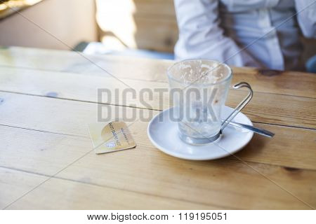 Credit Card To Pay Coffee