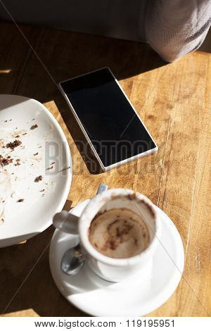 Phone And Coffee
