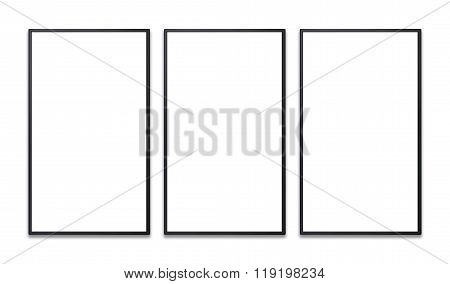Vertical Flat Screen Of Promotion Display Blank