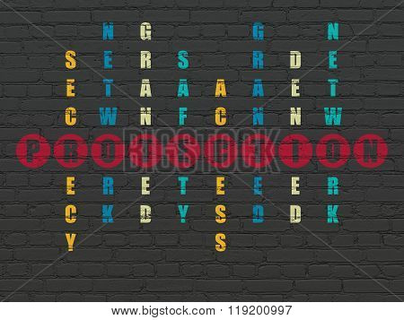 Privacy concept: Protection in Crossword Puzzle