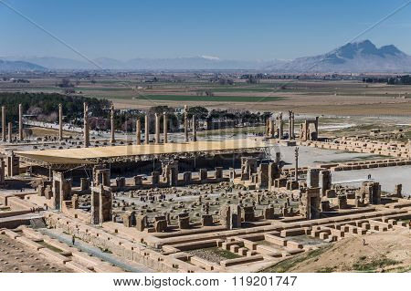 Ancient Ruins Of Persepolis, Iran